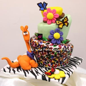 Animal Party Themed Cake
