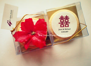 Red Flower Hei Cookies
