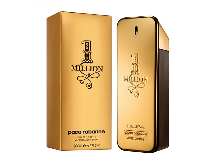 1 million Paco Rabanne edt 200ml hombre