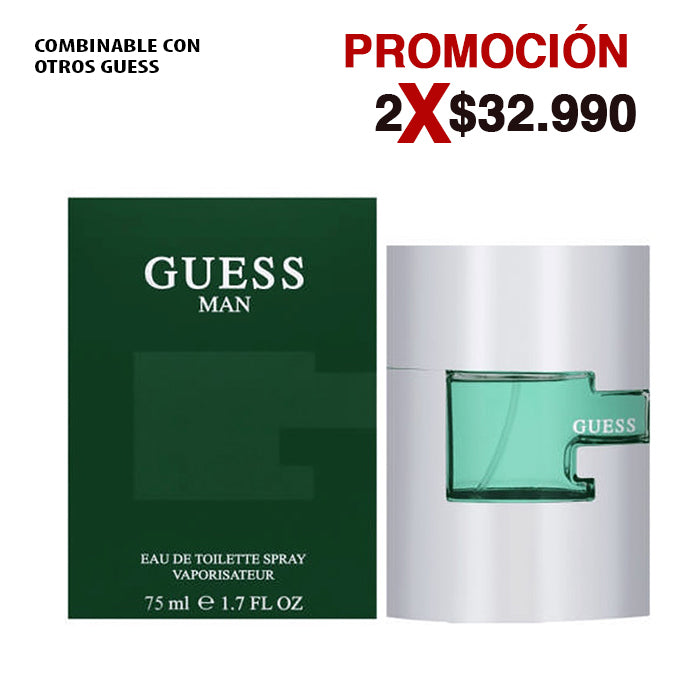 Guess Man 75ML EDT Hombre Guess