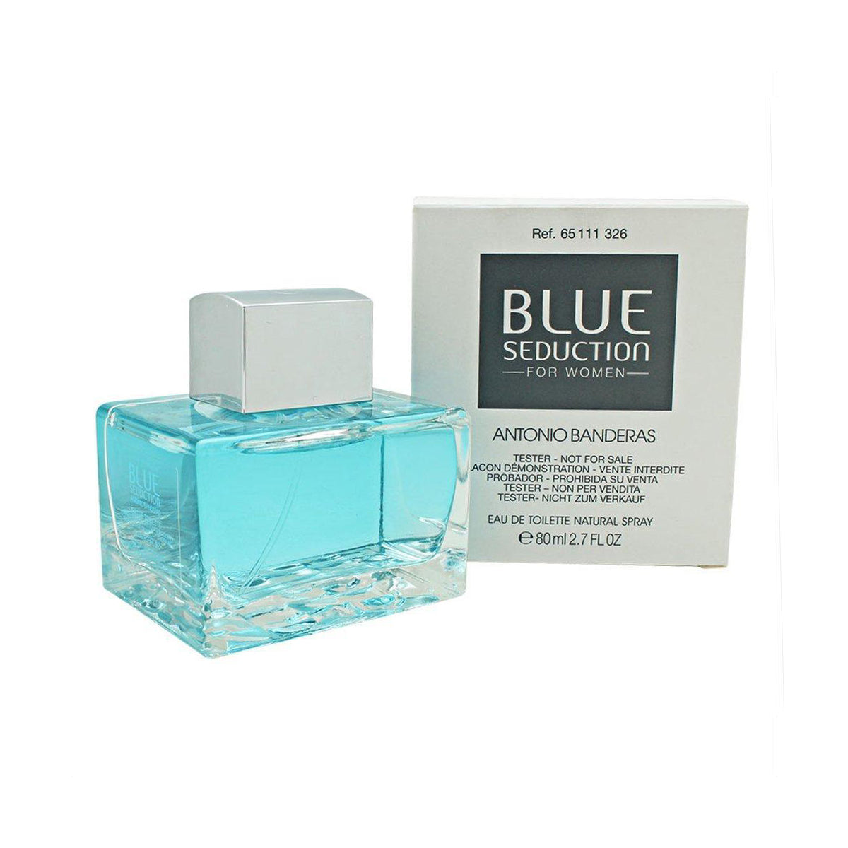 Blue Seduction Tester EDT Mujer 80ML