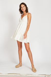 Vestido Rapsodia Rose Moon Crudo