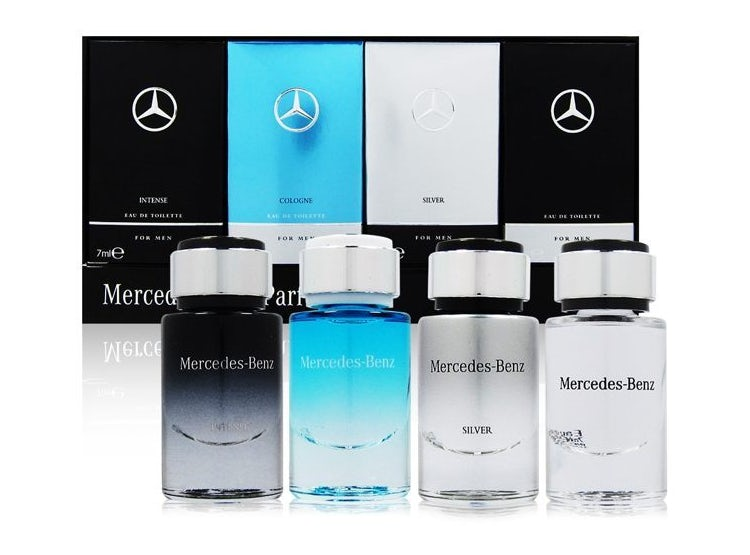 1Estuche Miniaturas M. Benz For Men Edt 7ml 4pcs Hombre