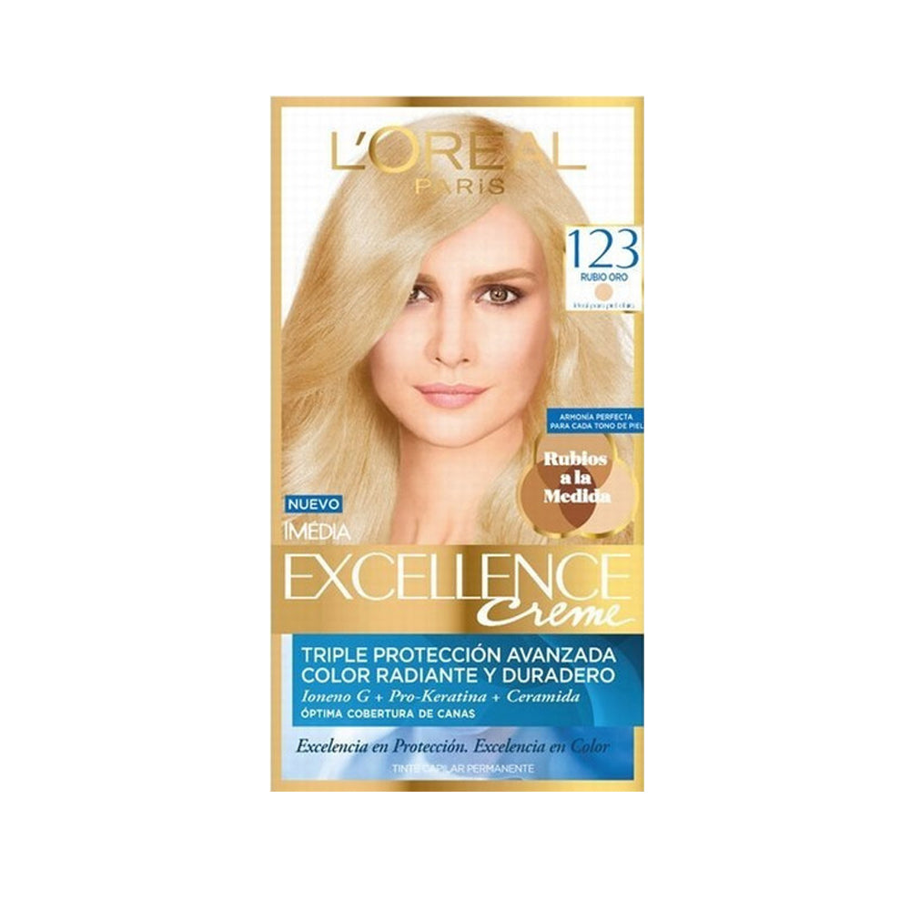 Excellence Creme Ultra Blond 123 Permanente