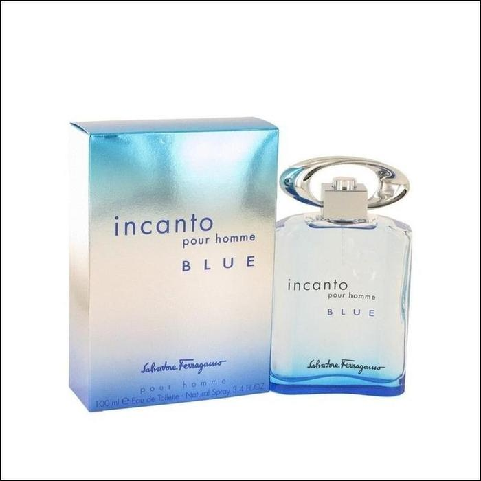Incanto Blue Salvatore Ferragamo Edt 100Ml Hombre