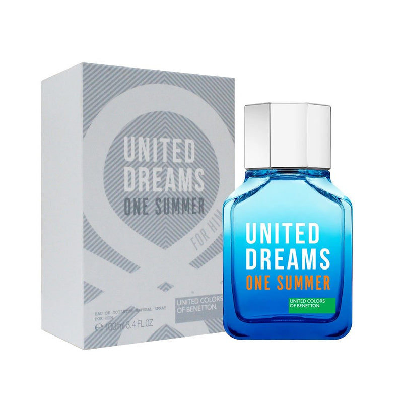 United Dreams One Summer Tester Edt 100ML Hombre
