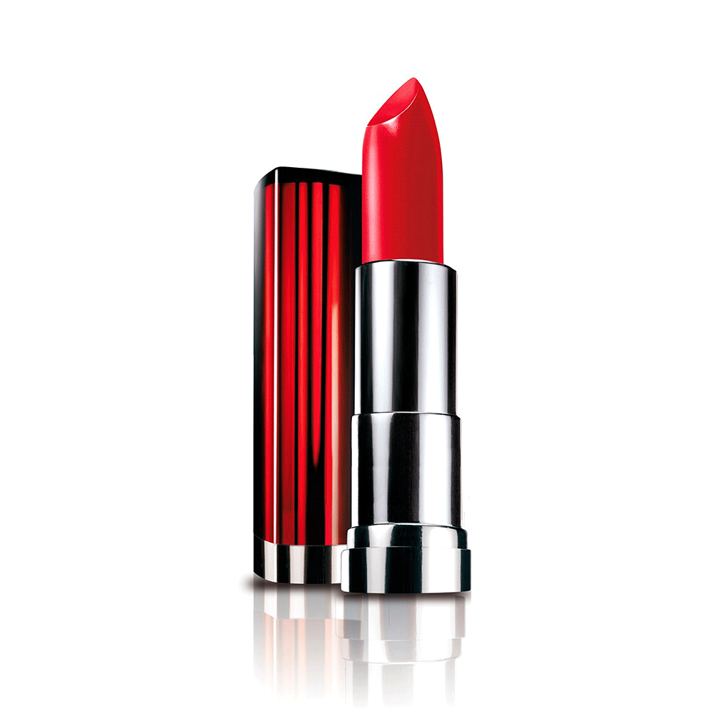 Labial Color Sensational 630 Red Revolution Maybelline