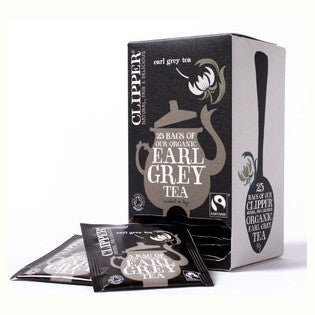 Clipper Fair Trade Organic Earl Grey Str, Tag & Env