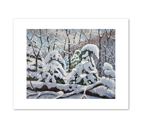 WINTER Art Print - Charles Bud Gibbons