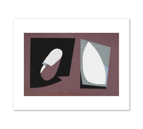 ORGANIC FORMS Art Print - Balcomb Greene
