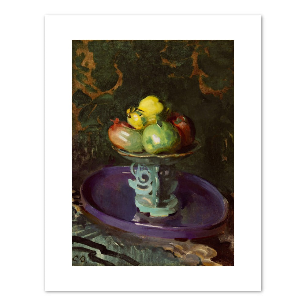 STILL LIFE WITH FRUIT Art Print - Cecilia Beaux