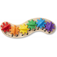 Melissa & Doug Caterpillar Gear Toy Play Set