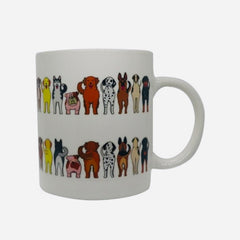 DOGS ThermoH Color Changing Coffee Mug