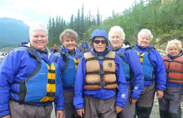 Clothing, Water Rafting In Alaska With Incontinence