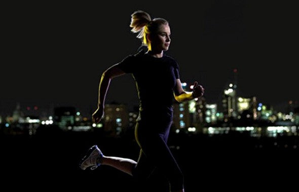 Person, How To Prep For A Night Run