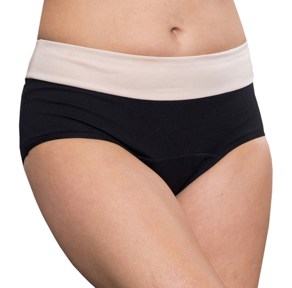 Balance – Black – Women's Incontinence Underwear - FANNYPANTS® Incontinence panties/ briefs