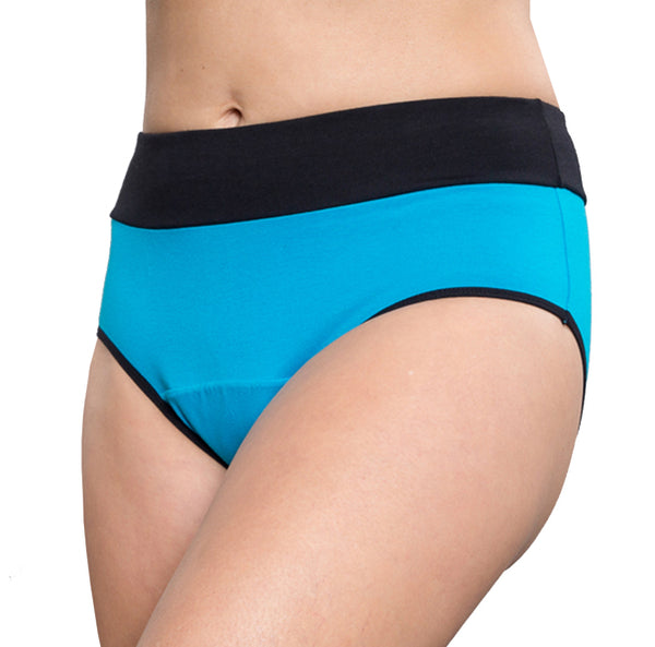 Balance – Turquoise – Women's Incontinence Underwear - FANNYPANTS® Incontinence panties/ briefs
