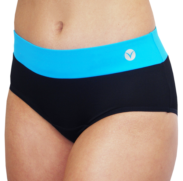 Bali – Blue – Period Panties - FANNYPANTS® Incontinence panties/ briefs