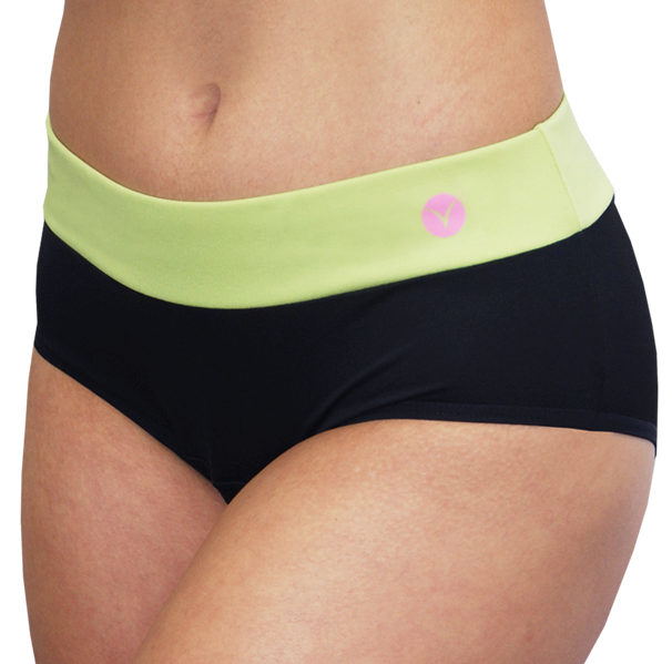 Bali – Green – Women's Period Panties - FANNYPANTS® Incontinence panties/ briefs