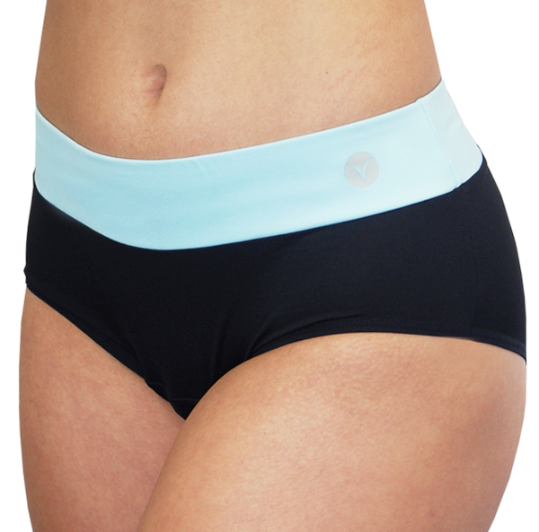 Bali – Ice Blue – Period Panties - FANNYPANTS® Incontinence panties/ briefs