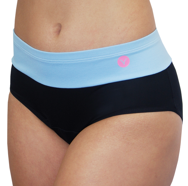 Bali – Island-Blue – Period Panties - FANNYPANTS® Incontinence panties/ briefs