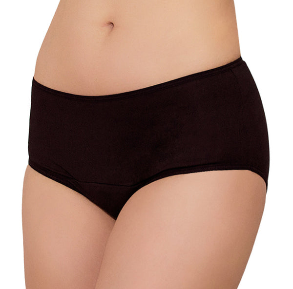 Freedom PLUS + Maxi SMARTPAD® – Black – Women's Incontinence Underwear - FANNYPANTS® Incontinence panties/ briefs