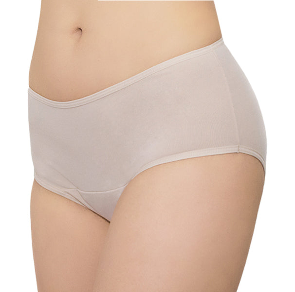 Freedom PLUS + Maxi SMARTPAD® – Nude – Women's Incontinence Underwear - FANNYPANTS® Incontinence panties/ briefs