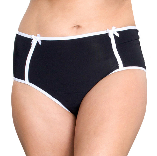 Midnight – Black – Women's Incontinence Underwear - FANNYPANTS® Incontinence panties/ briefs