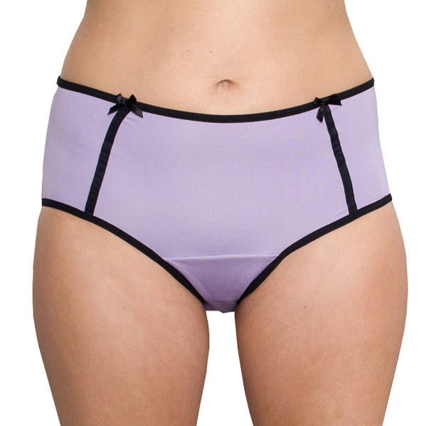Midnight – Lilac – Women's Incontinence Underwear - FANNYPANTS® Incontinence panties/ briefs