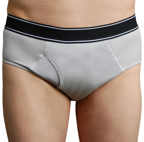 Orca – Grey – Incontinence Briefs for Men - FANNYPANTS® Incontinence panties/ briefs