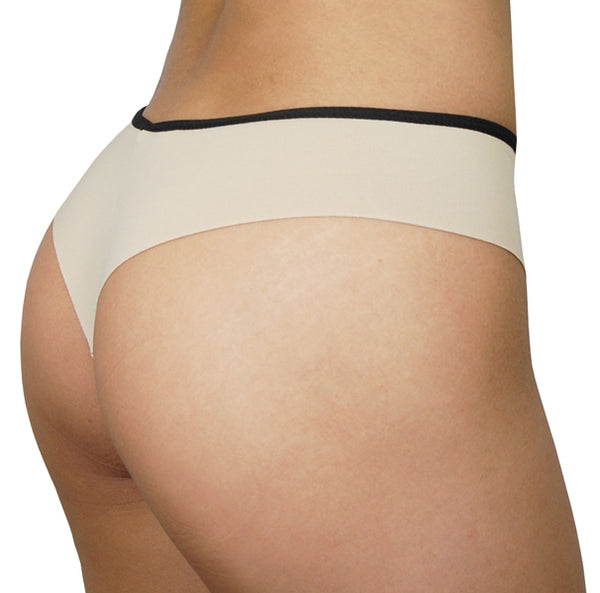 Rio Thong – Nude – Women's Incontinence Underwear - FANNYPANTS®