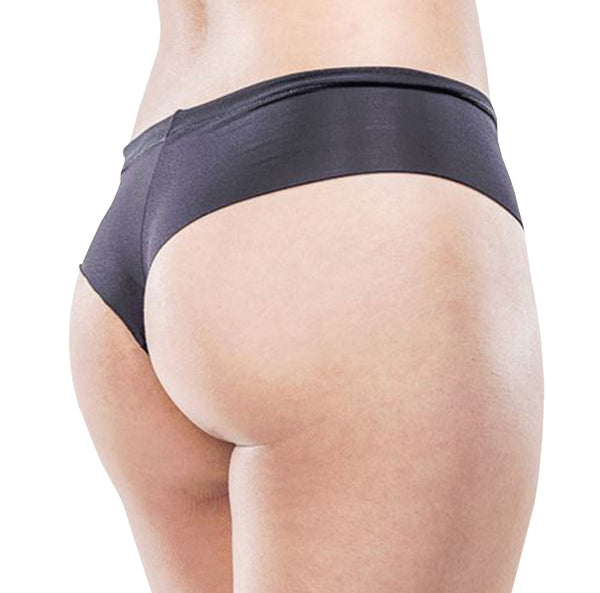 Rio Thong – Black – Women's Incontinence Underwear - FANNYPANTS® Incontinence panties/ briefs