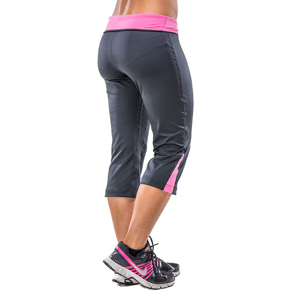 Capris Pants for Women – Sweat & Odor Free – Fuchsia Pink - FANNYPANTS® Incontinence panties/ briefs