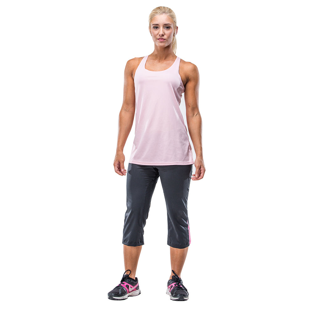 Athletic Tank Top – Pink - FANNYPANTS® Incontinence panties/ briefs