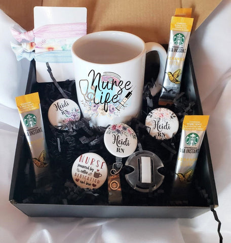 Badges and Buttons Club Gift Boxes | Nurse