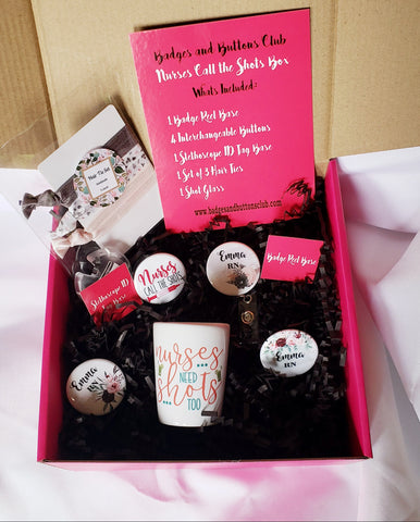 Gift Box | Nurses Call the Shots Box