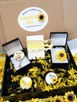 Gift Box | Sunshine Box | Badges and Buttons Club