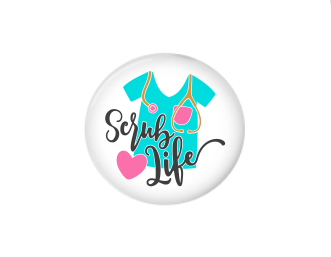 Button | Scrub Life | Badges and Buttons Club