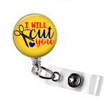 Badge Reel | Hair hustler | Yellow Background - badges-and-buttons-club