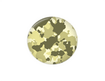 Interchangeable Button |  Green and Tan Camo | Badges and Buttons Club