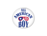 Button | All American Boy - badges-and-buttons-club