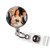 Add Your Photo | Badge Reel Holder - badges-and-buttons-club