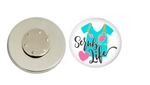 Magnetic Pin Back | Scrub Life | Badges and Buttons Club
