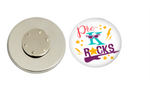 Magnetic Pin Back | Pre-K Rocks - badges-and-buttons-club