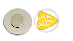 Magnetic Pin Back | Nacho Average Teacher | Badges and Buttons Club