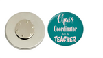 Magnetic Pin Back | Chaos Coordinator aka Teacher - badges-and-buttons-club