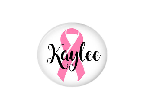 Button | Personalized Cancer Awareness | Badges and Buttons Club