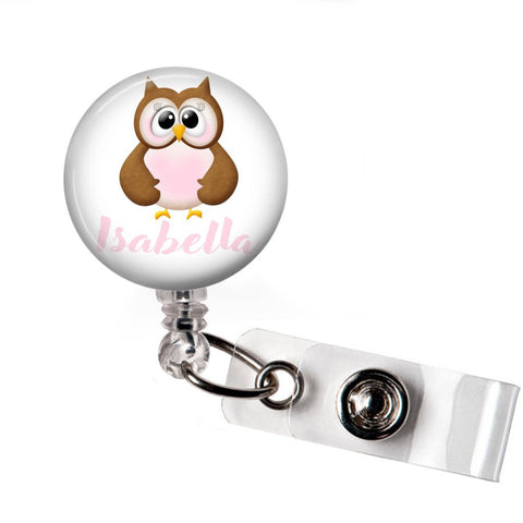 Cute Owl | RN Badge Reel | P033 | Badges and Buttons Club