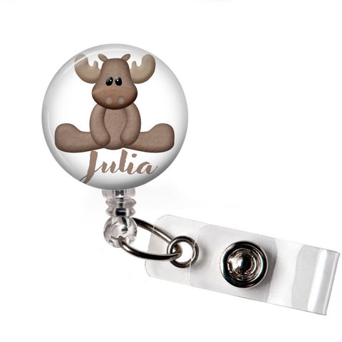 Moose | Badge Reel | Badges and Buttons Club