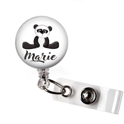 Black and White Panda | Badge Reel | P032 | Badges and Buttons Club